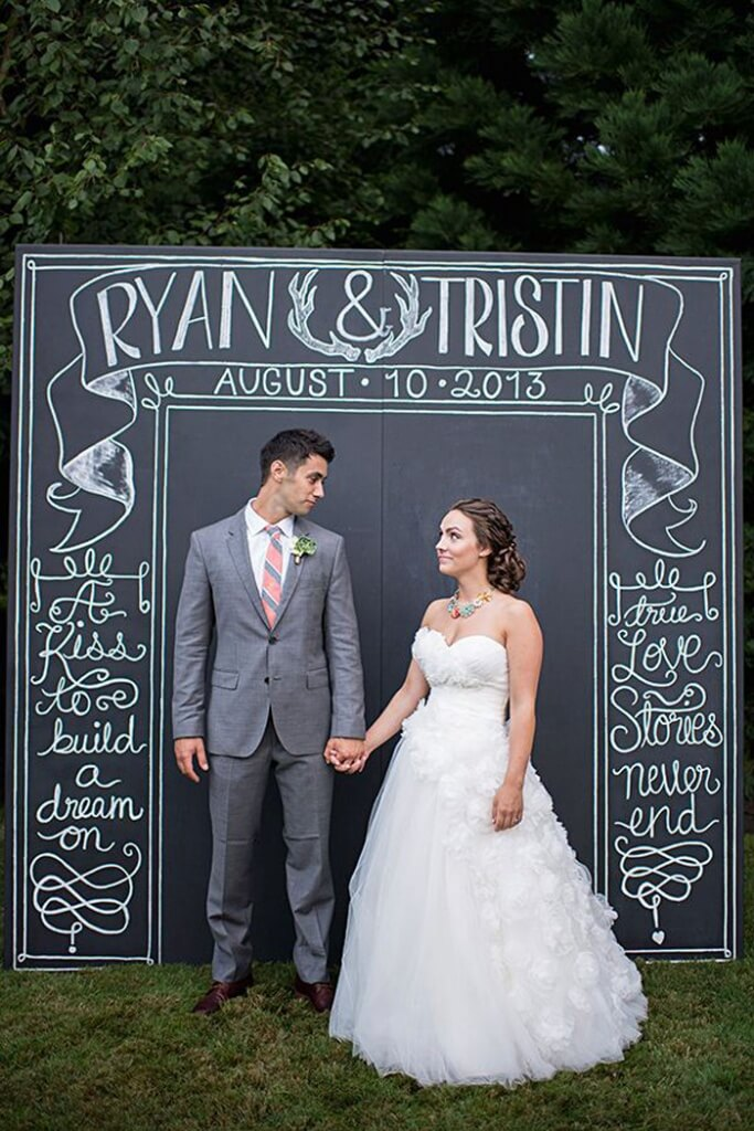 Rustic Wedding Venue Photobooth