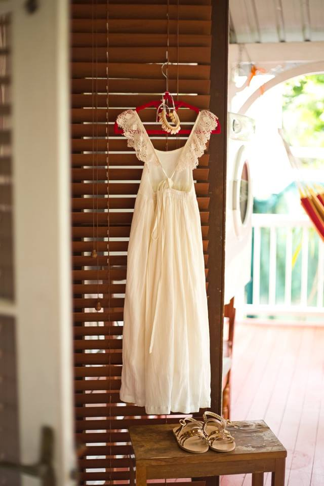 whimsical white dress